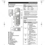 Manuales Panasonic en español pdf