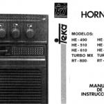 Manual de instrucciones teka ht 610 me