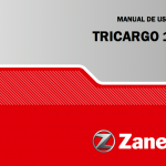 Manual Zanella tricargo