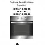 Guía de instrucciones Horno Teka Hi-535