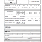 Formulario de AFIP F460j