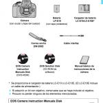 manuales de usuario Canon