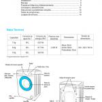 manual de uso lavarropa patriot