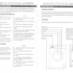 manuales de panavox modelo slim