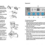 manual de uso lavarropa panavox