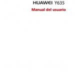 Manual Huawei Y635