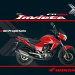 Manual Honda Invicta