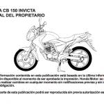 Manual de uso Honda