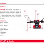 Utilización Zanella ZR 125