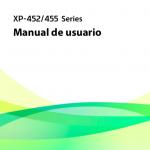 Manual Epson xp 455