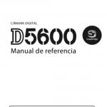 Portada manual Nikon D5600