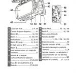Página del manual cámara Nikon D5600
