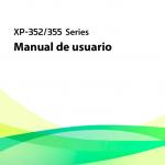Portada manual Epson xp 355