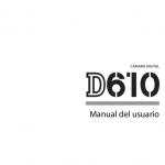 Portada manual Nikon D610
