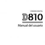 Portada manual Nikon D810