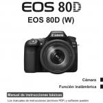 Portada manual Canon EOS 80d