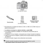 Página manual Canon