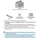 Manuales de Canon 4000d