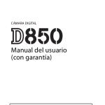 Portada manual Nikon D850