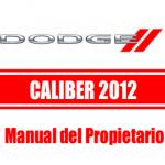 Manual de usuario Dodge Caliber