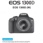anual Canon EOS 1300d portada