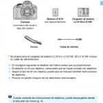 anual Canon EOS 1300d partes