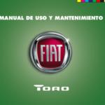 Portada del manual del Fiat Toro
