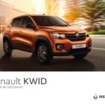 Portada manual Renault Kwid