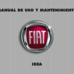 Portada Manual Fiat Idea