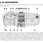 Tablero de instrumentos Fiat Idea